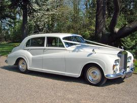 Wedding Car Hire Essex Rolls Royce Silver Cloud 3
