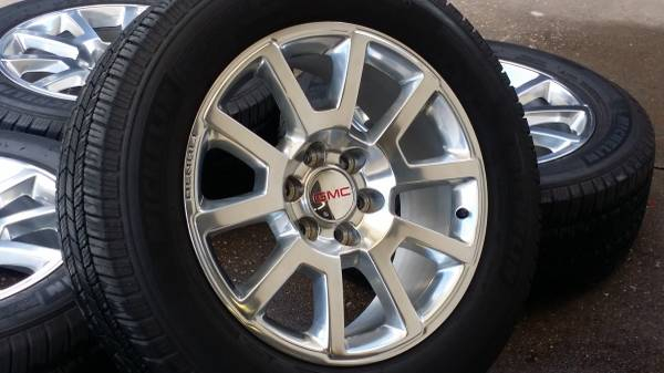 sierra tire oem factory gmc set wheel yukon wheels