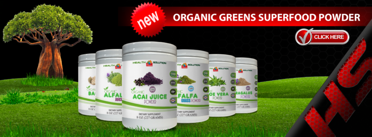 Organic Greens SuperFood Powder by Vitamin Prime