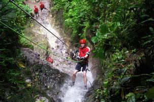 Jungle Adventure, Costa Rica, Waterfall, Horseback Riding, Reppelling, ATV-ing, Zip Lining