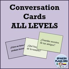 Spanish Conversation Cards Cover