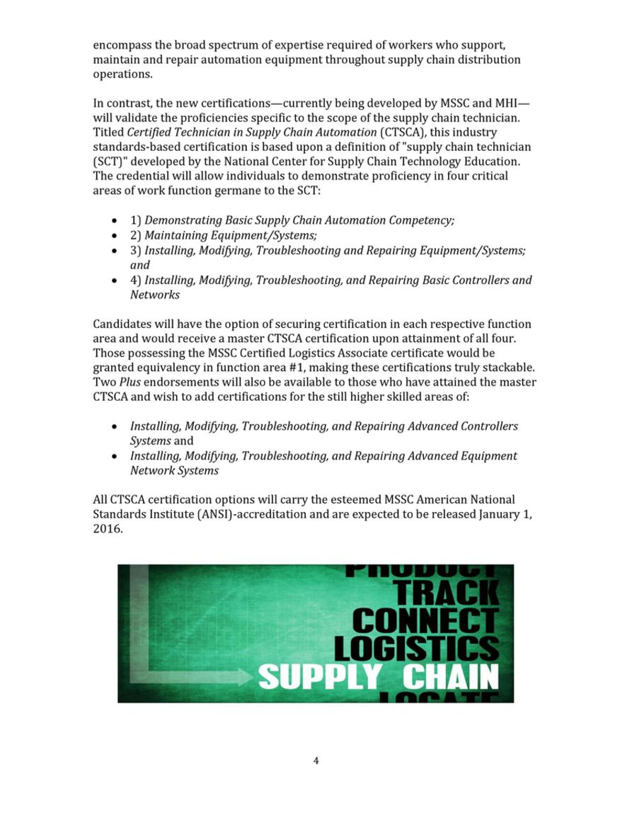 White Papers The Importance Of Supply Chain Technician