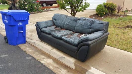 Curbside Junk Furniture Sofa Pickup Curbside Garbage Pickup Omaha