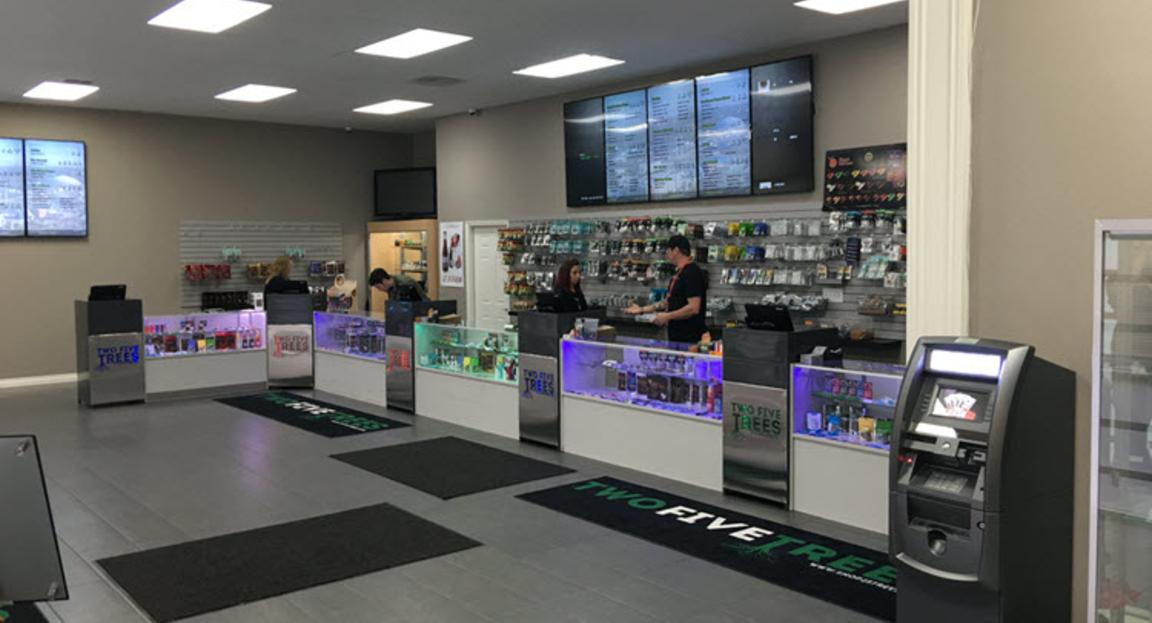 Two Five Trees Recreational Cannabis Dispensary in Tacoma, Washington