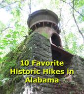 10 Favorite Historic Hikes in Alabama