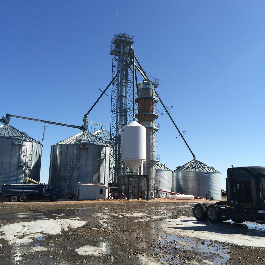 Sukup grain bin equipment