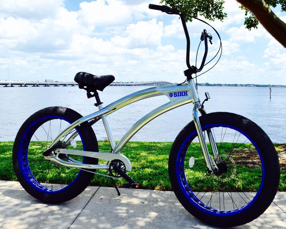 Sikk Bicycles - Custom Beach Cruisers, Fat Tire Bikes