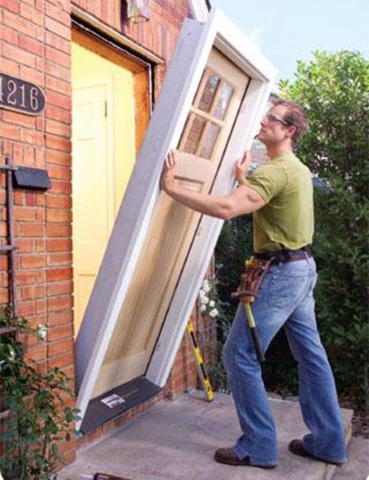 Door Replacement Services and Cost | Lincoln Handyman Services