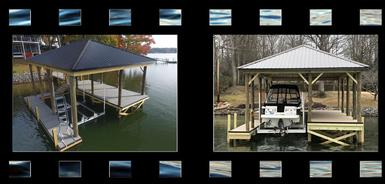 Lake Wylie Docks Video Gallery