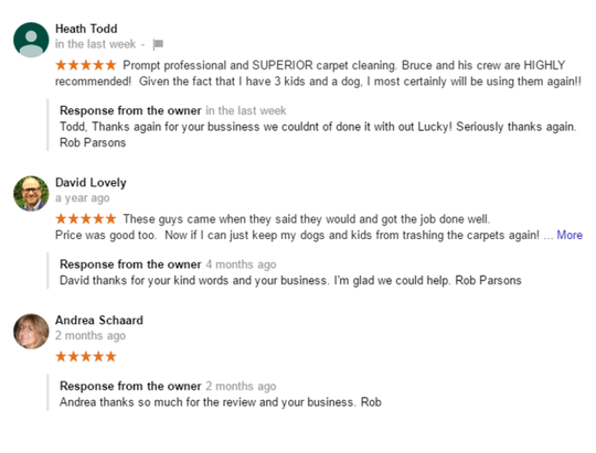Reviews Of The Best Carpet Cleaning Company In Bucks County