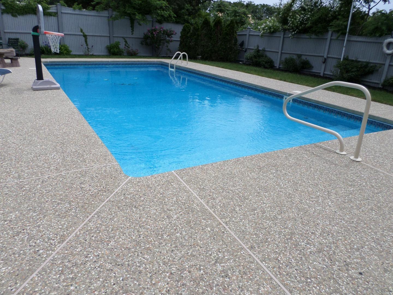 Sealing exposed aggregate pool deck - Sealing Exposed Aggregate Pool Deck 1