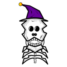 Necro Bear Sticker