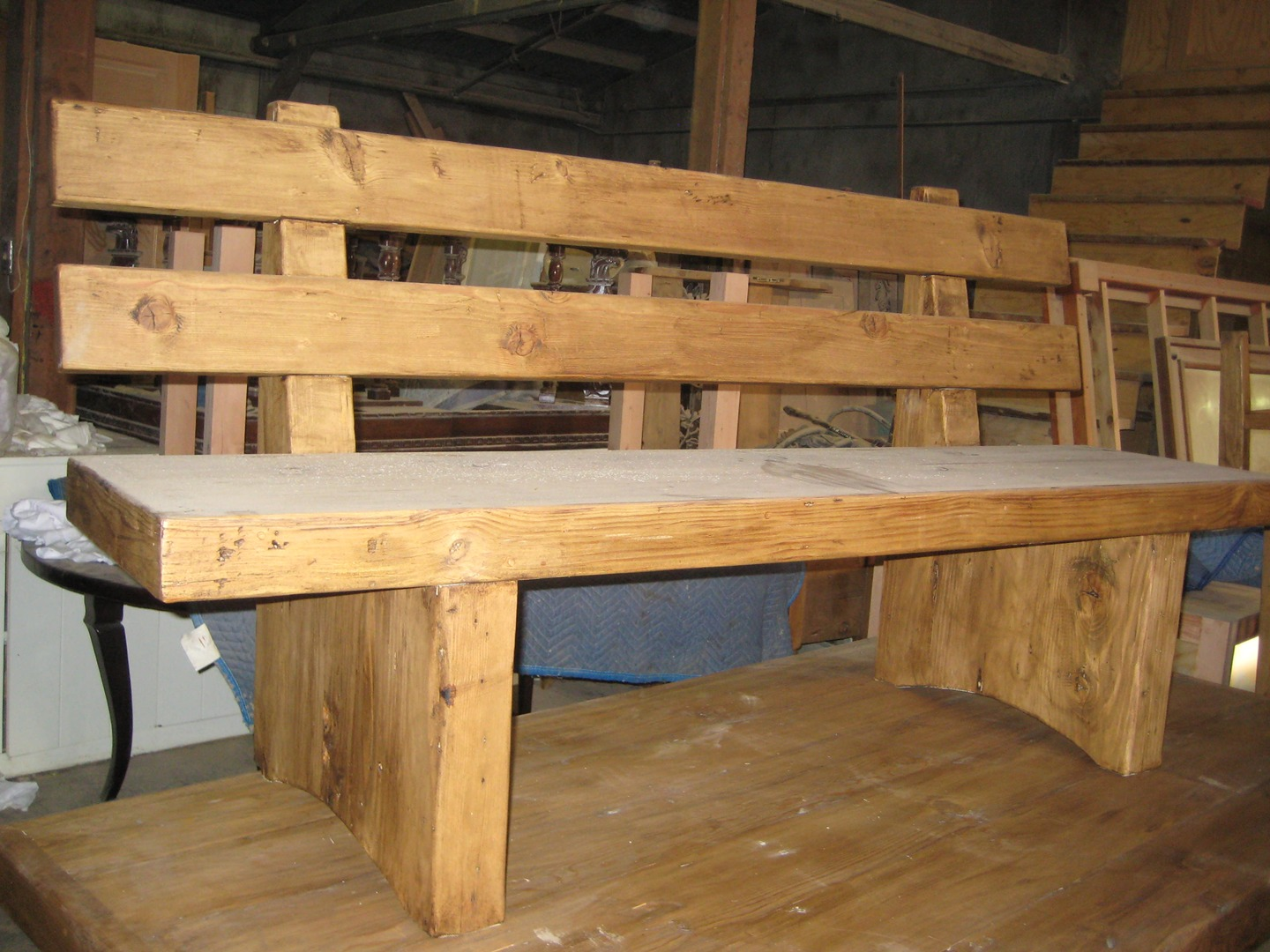 Benches Custom Made In The Usa From Reclaimed Wood
