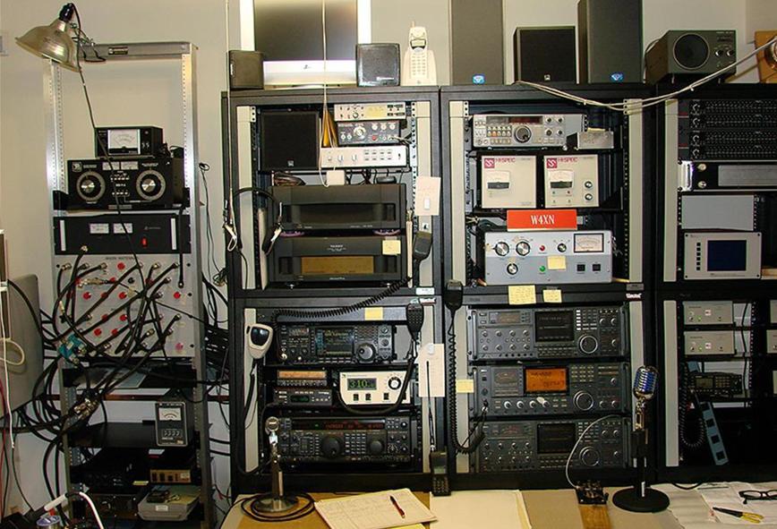 Ham Radio Console Ham Radio Station Console