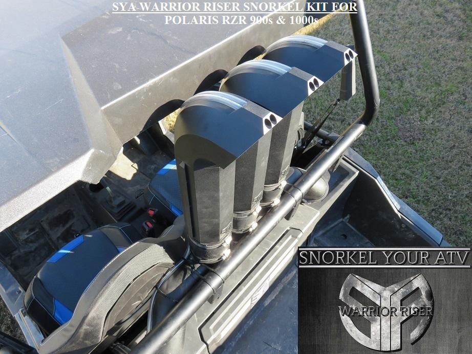 Polaris RZR Snorkel kits