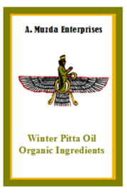 Pitta Oil - Organic Ingredients - Winter