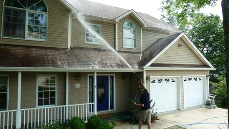 HOUSE EXTERIOR CLEANING SERVICES