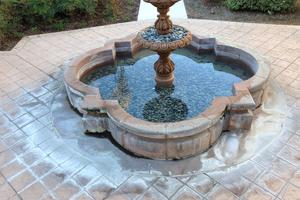 Fountain cleaning service orange county