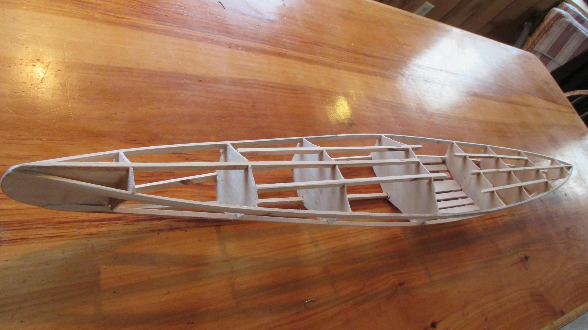 Skin on frame kayak plans - The 40 55 Skin On Frame Kayak Model Kits