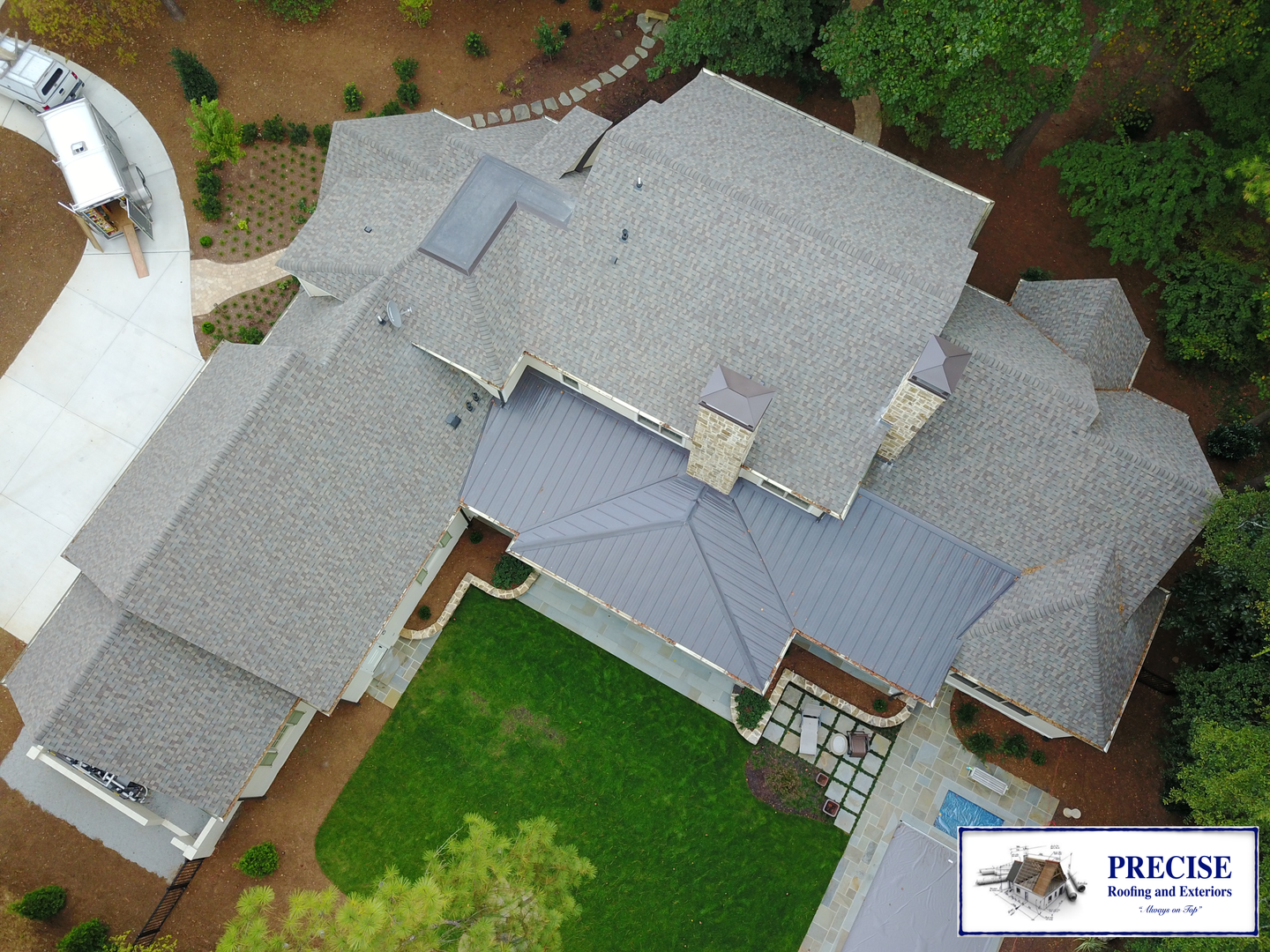 Precise Roofing And Exteriors Raleigh Nc Residential Services Roofing Repairs Siding Gutters Painting