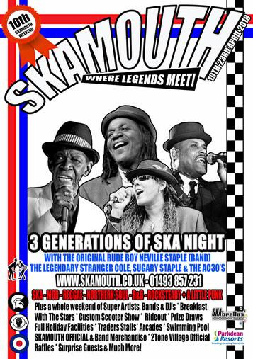 Skamouth Weekender with 3 Generations of Ska