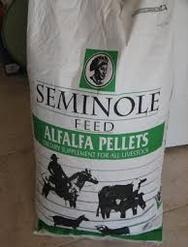 Seminole Feed Alfalfa Pellets