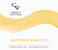 Croft Vineyards Sauvignon Blanc 2015