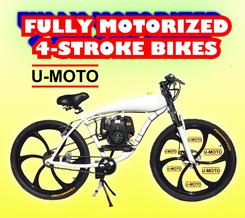FULLY MOTORIZED 4-STROKE MOTORIZED BIKE