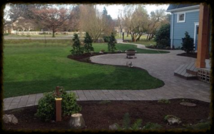 Paver patio and pathway