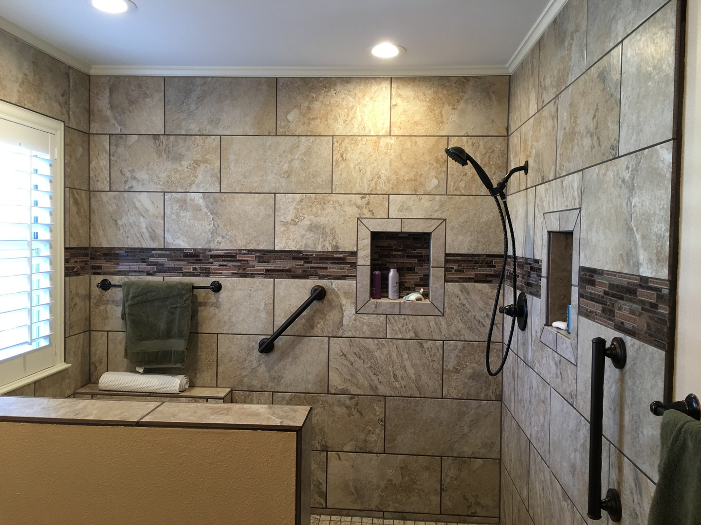 Construction Crossroads Construction - Bathroom remodel waco tx