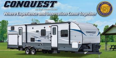Conquest Travel Trailers at Bear Creek RV