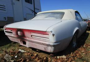 1968 Pontiac Firebird 350 Convertible Project