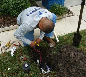 Waterfall Irrigation repairs sprinkers and installs sprinkler systems.