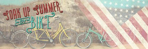 Soak up summer with a bike from Pedal Power!
