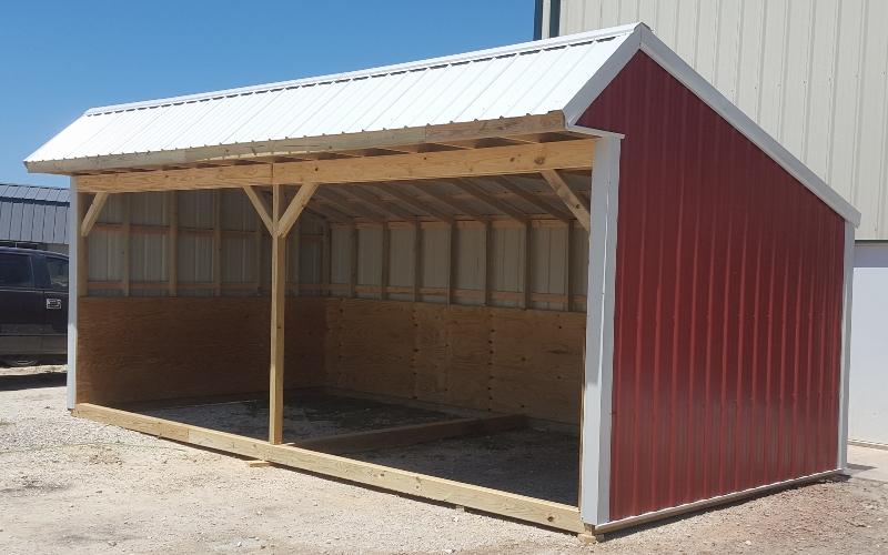 galvanized sheds tackroom buildings shedrow loafingshed htm psrbarns loafing barns bldgs psr shed