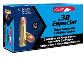 .38 Caliber Special full metal jacket bullets