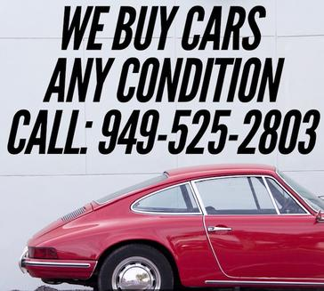 We Buy Cars 949-525-2803