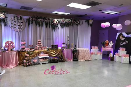 Celeste creations manteleria decoracion denver celestes creaciones the perfect party rentals for your wedding or quinceaeras rental policies if you would like to see a table set up please call us at least 1 week in junglespirit Images