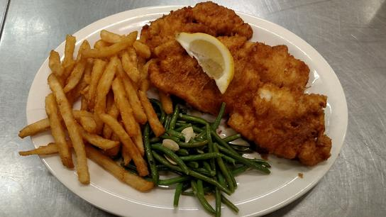 FAMOUS BEER BATTERED HADDOCK