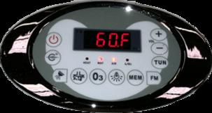 Walk In Tub Standard LED Display & Controls by Dynasty Remodeling LLC