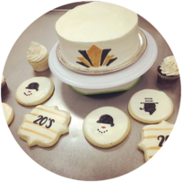 Honey Bee Bakery Corporate Gifts and Logo Cookies