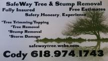 SafeWay Tree & Stump Removal