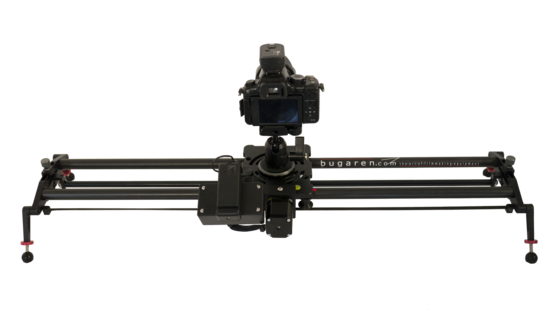 This is a motorized parallax camera slider that is 31 inches long and uses an android app.