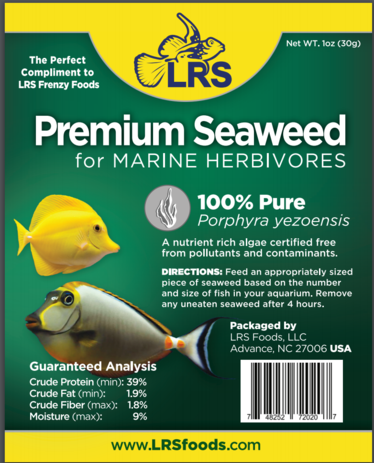 Reef frenzy best reef food larry 39 s reef services llc for Lrs fish food