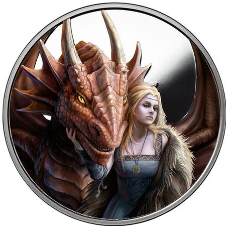 Anne Stokes Dragons Silver Coins