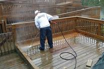 Deck washing