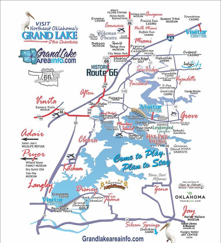 Grand Lake OK Area info - Tourist Attractions, Tourist Information ...