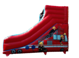 Fireman slide side view