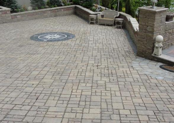 Style Of From ICPI Permeable interlocking concrete pavement PICP is prised of a layer of concrete pavers separated by joints filled with small stones Top Search - Contemporary interlocking concrete pavers HD