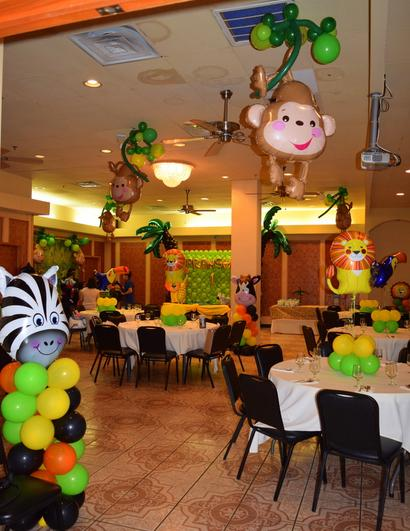 JUNGLE THEME DECORATIONS